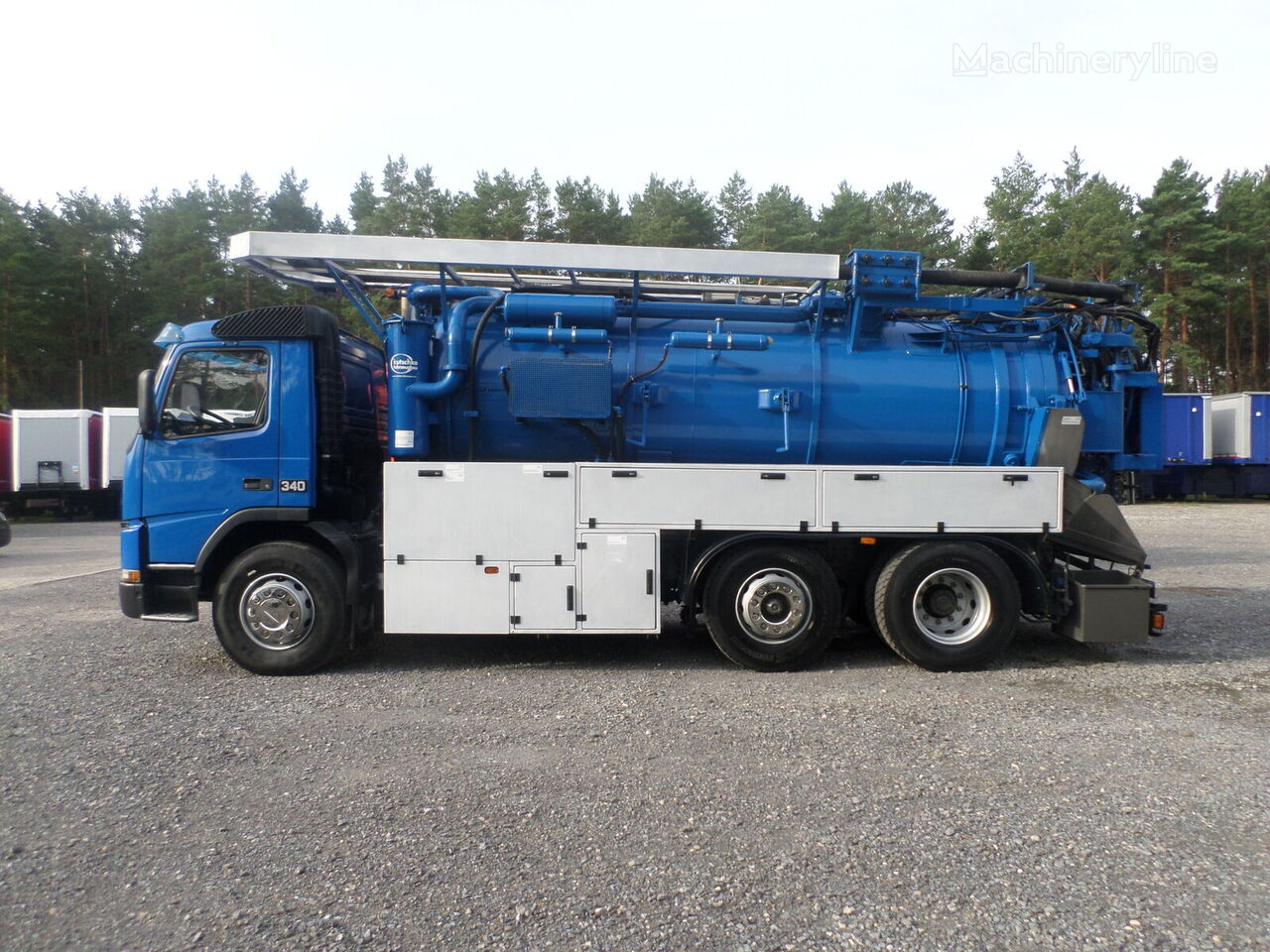VOLVO FM 340 Kutschke WUKO Water recycling combination sewer cleaner