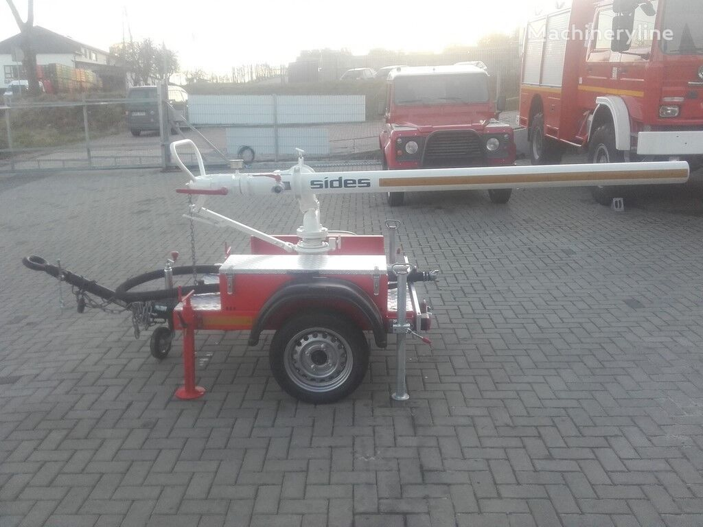 MERCEDES-BENZ SIDES Canonne Cannon fire fighting equipment