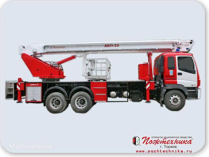 ISUZU AKP-32 fire ladder truck