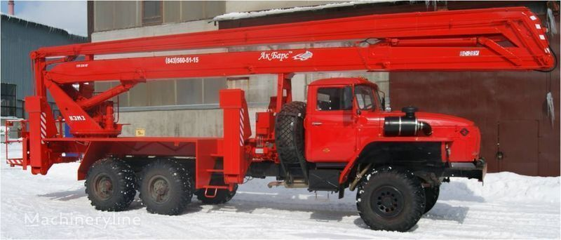 KAMAZ 43253, 43502 fire ladder truck