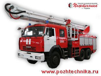 KAMAZ ACPK-2,0-40/100-24     fire ladder truck