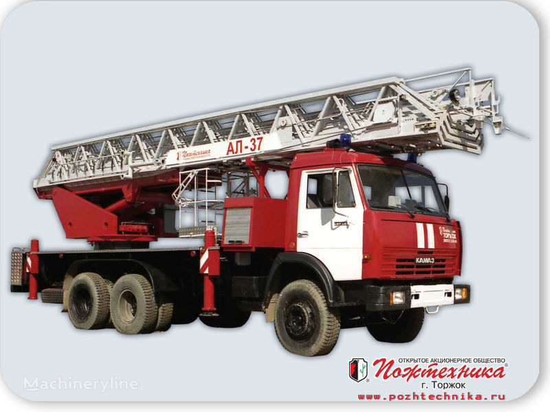 KAMAZ AL-37 fire ladder truck