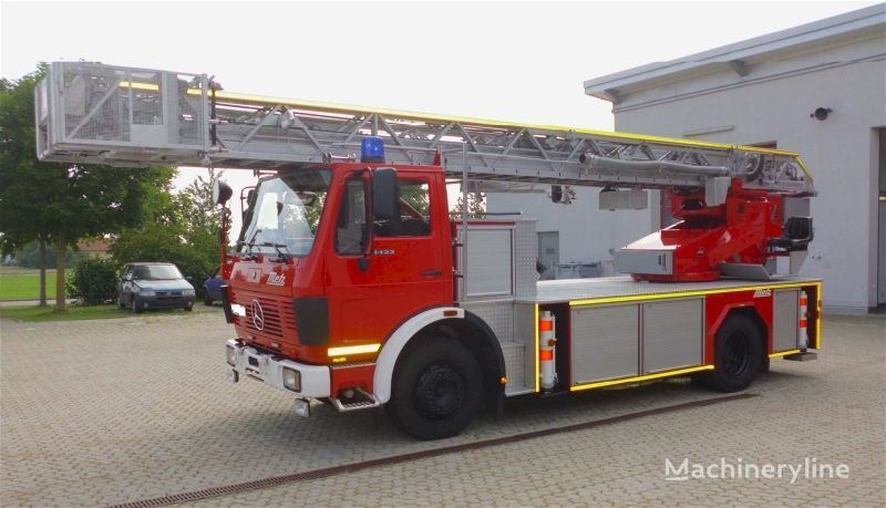 MERCEDES-BENZ F20126-Metz DLK 23-12 - Fire truck - Turntable ladder  fire ladder truck