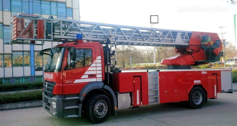 MERCEDES-BENZ F20127 - Metz L39 - Fire truck - turntable ladder fire ladder truck