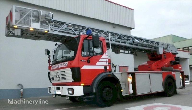 MERCEDES-BENZ F20133 - Metz L32 PLC 2 - Fire truck - Turntable ladder fire ladder truck