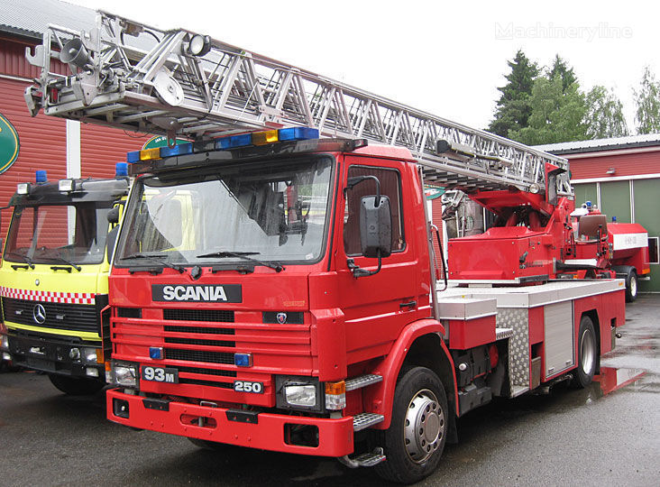 SCANIA P-93, 4x2WD fire ladder truck