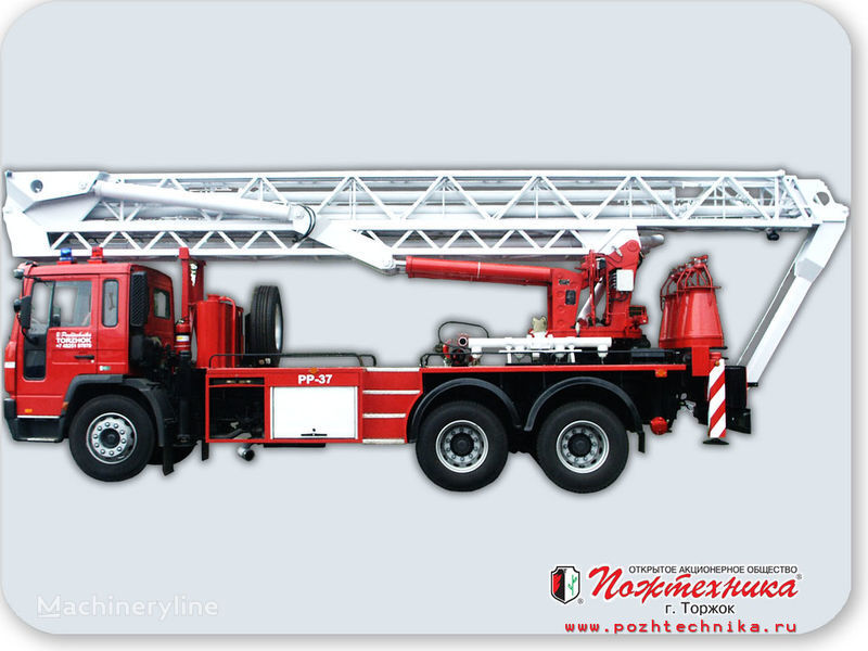 VOLVO PPP-37 Penopodemnik pozharnyy fire ladder truck
