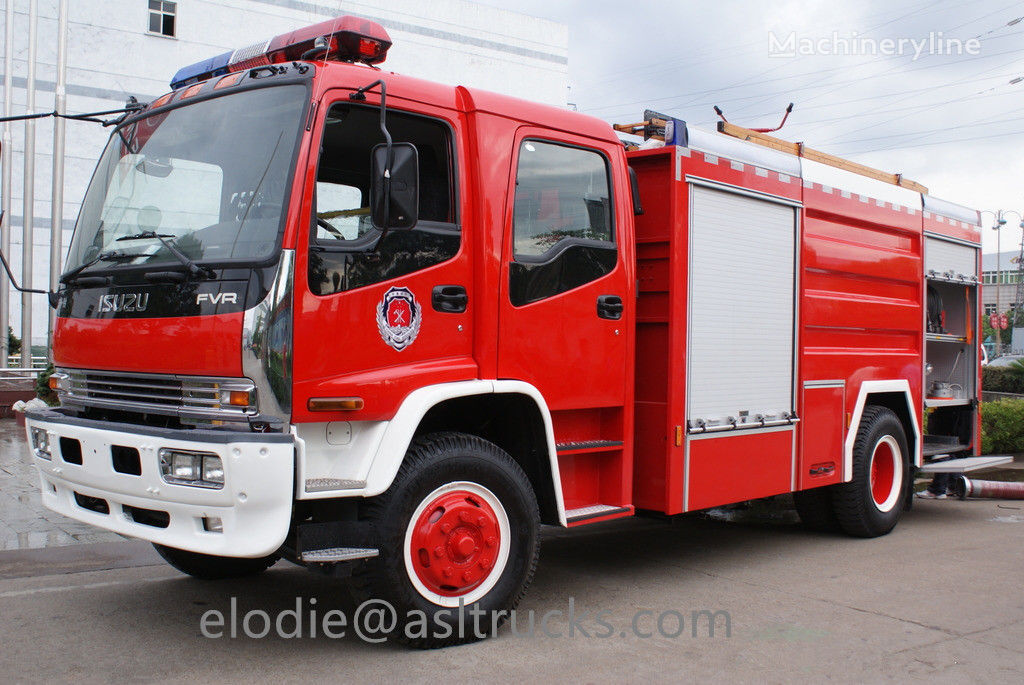 new ISUZU fire truck