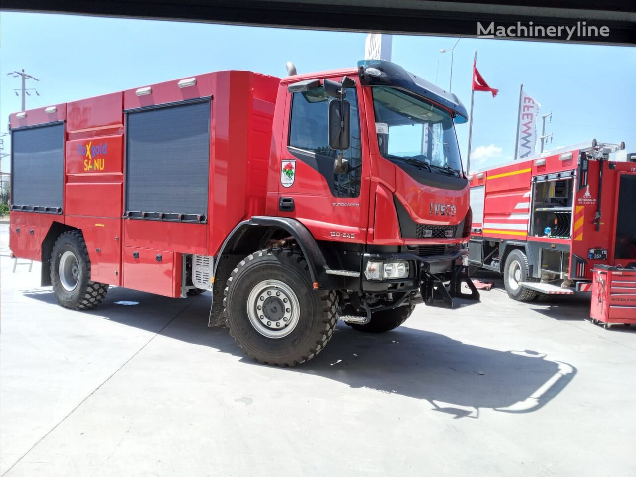 new IVECO 4x4 fire truck