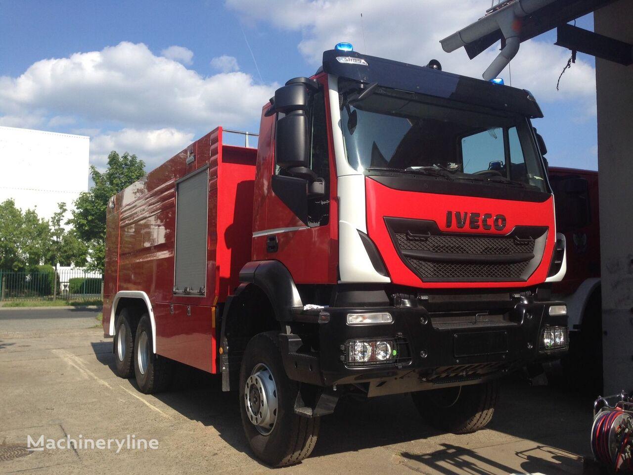 new IVECO Trakker GTLF 13.000 L + 1.000 L fire truck