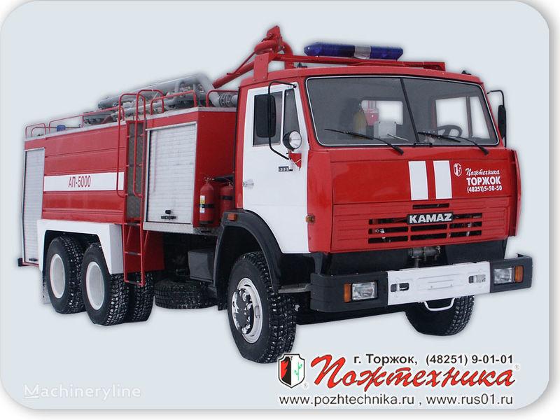 KAMAZ AP-5000 Avtomobil poroshkovogo tusheniya fire truck