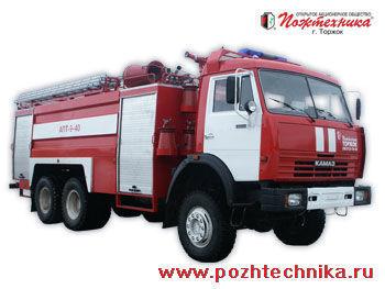 KAMAZ APT-9-40 Avtomobil pennogo tusheniya pozharnyy     fire truck