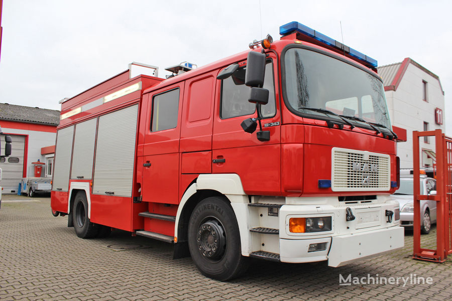 MAN 19.343 fire truck