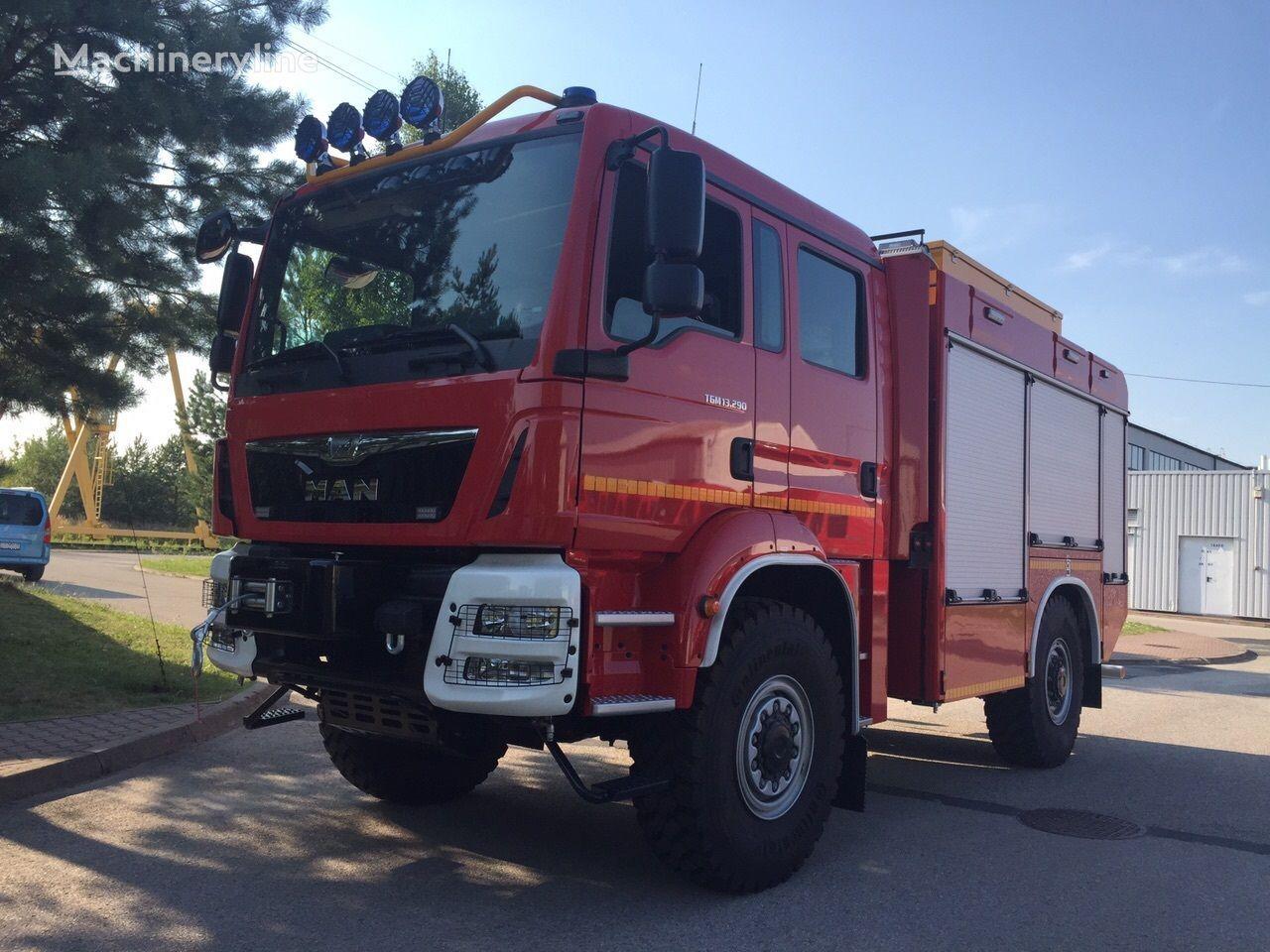new MAN TGM 13.290 Einzelbereifung 4x4 fire truck