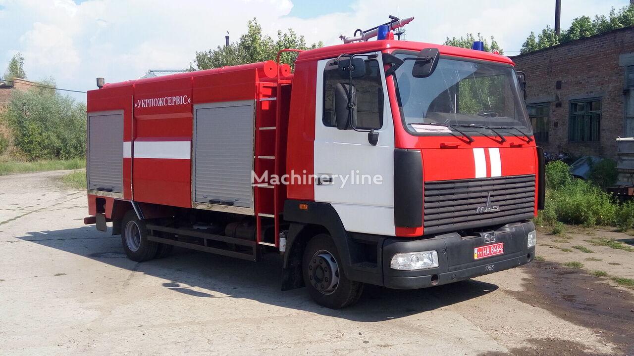 new MAZ 5340 fire truck
