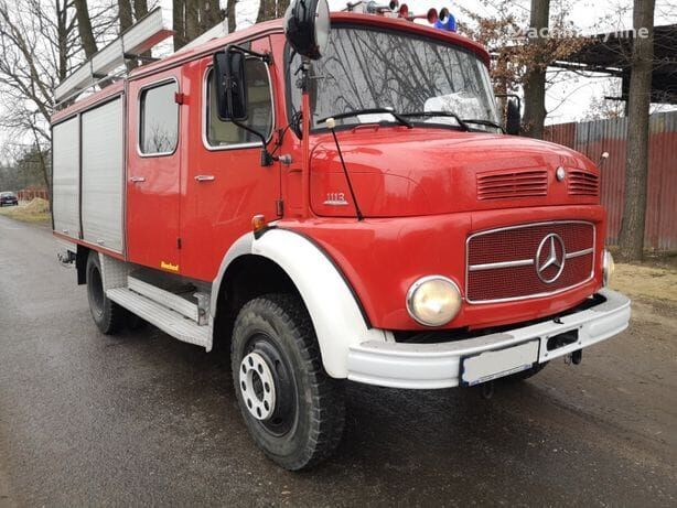 MERCEDES-BENZ 1113 fire truck