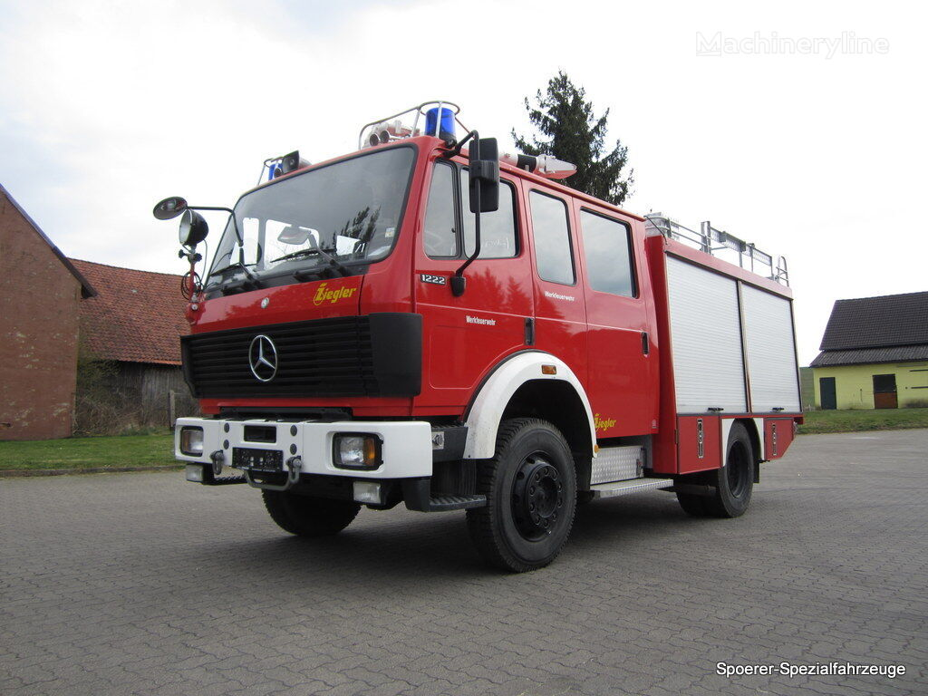 MERCEDES-BENZ 1222 AF fire truck