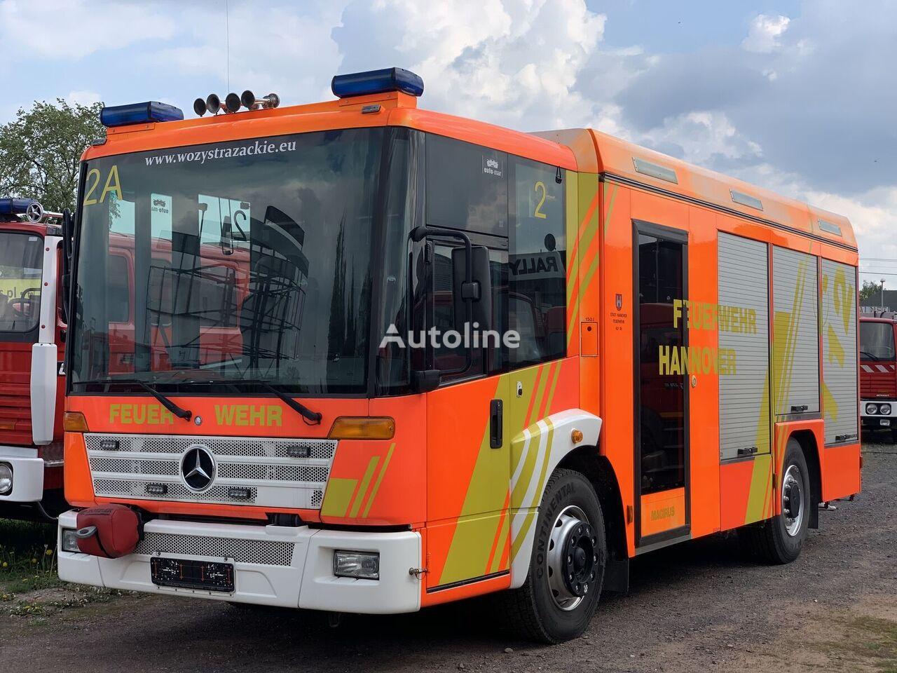 MERCEDES-BENZ 1828LL Bomberos Fire Truck Pompier Hasici Straż Pożarna fire truck