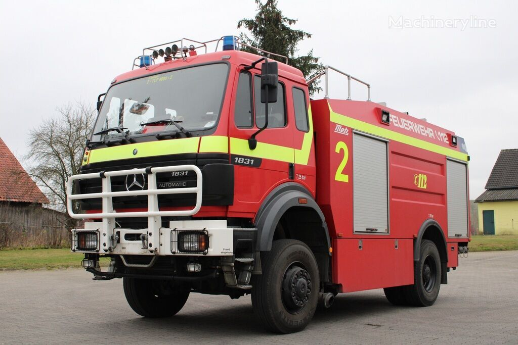 MERCEDES-BENZ 1831 AK fire truck