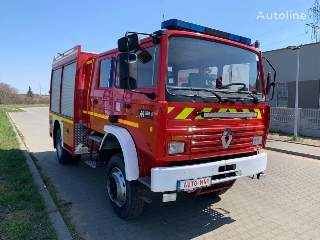 RENAULT 4x4 M180 offroad hasici bombero firetruck straż fire truck