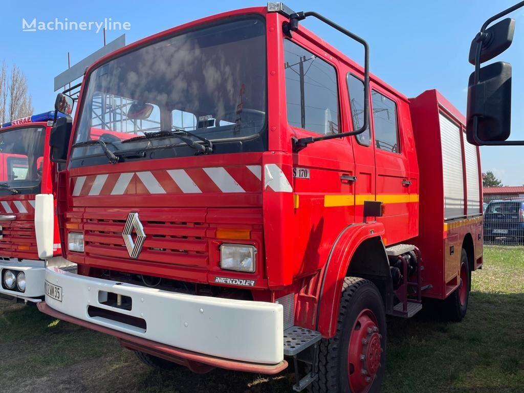 RENAULT 4x4 S170 OFFROAD Bomberos Firetruck Feuerwehr Straż fire truck