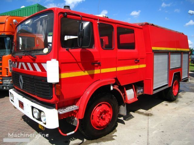 RENAULT G-191 11 PLACE WATER PUMP fire truck