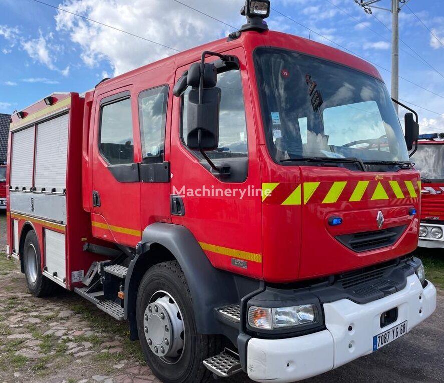 RENAULT Midlum Bomberos FireTruck Pompier Hasici Straż Pożarna fire truck