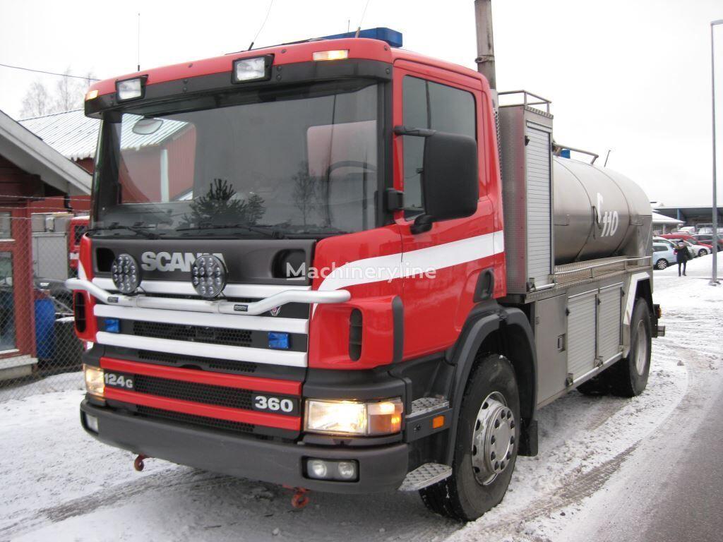 SCANIA P-124 fire truck