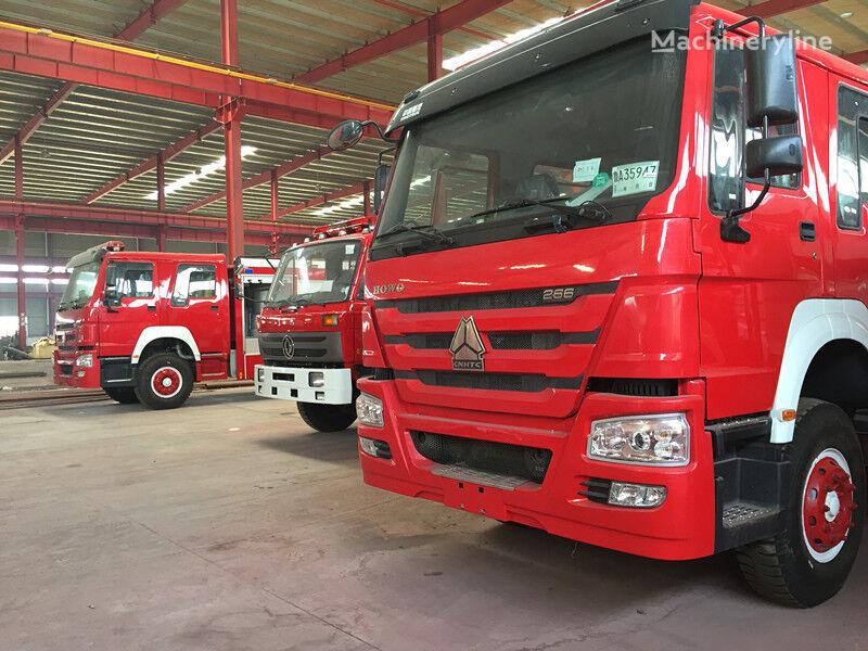 new SINOTRUK fire truck