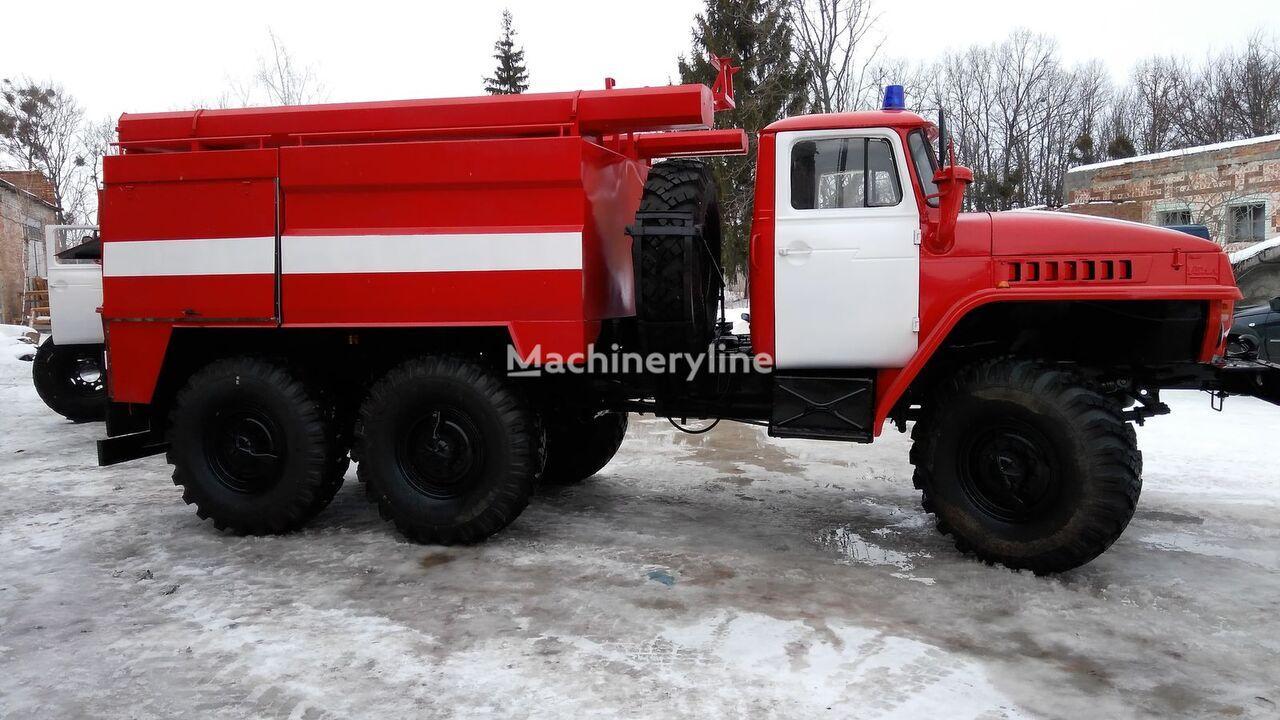 new URAL 4320 fire truck