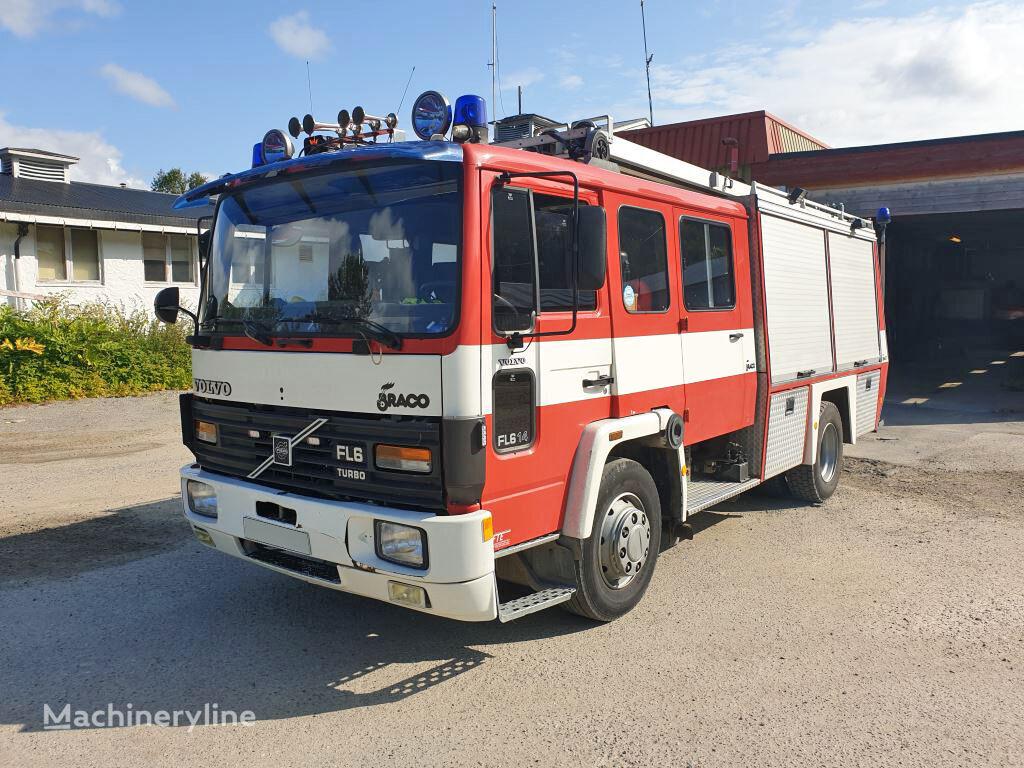VOLVO FL 614, 4x2 WD fire truck
