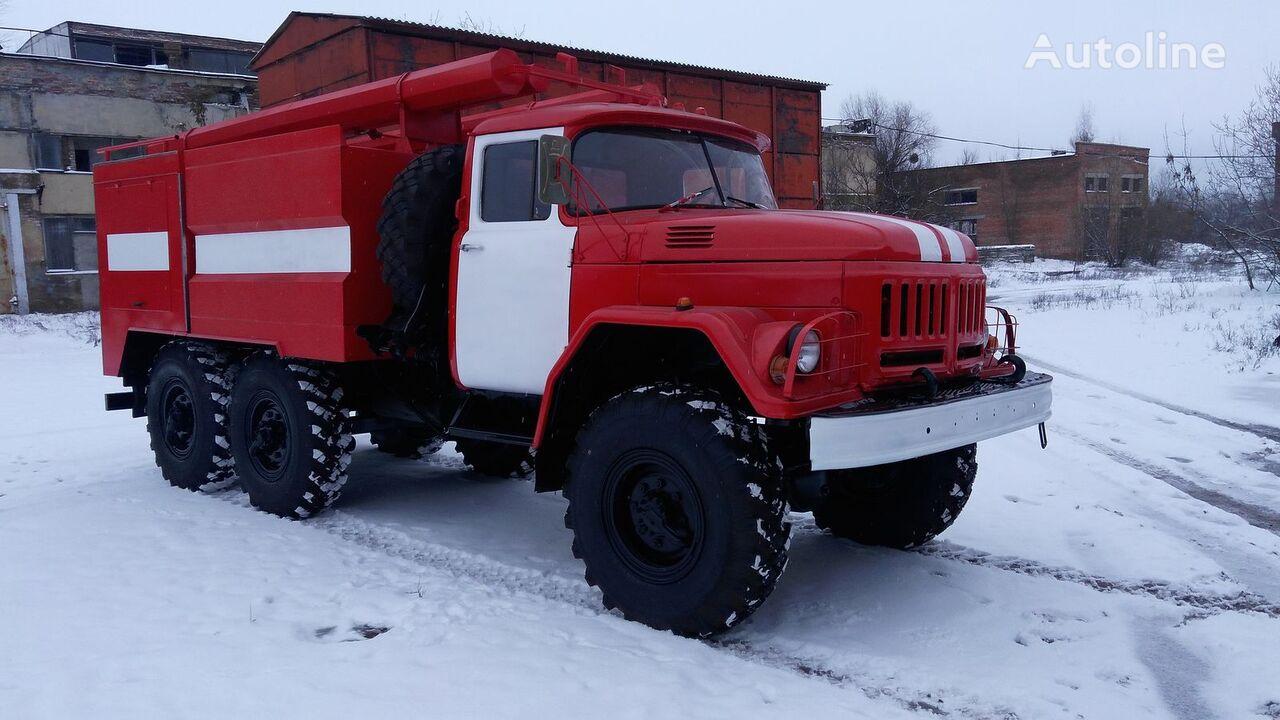 new ZIL 131 fire truck