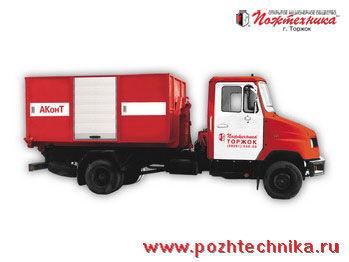 ZIL AKonT Avtomobil konteynernogo tipa    fire truck