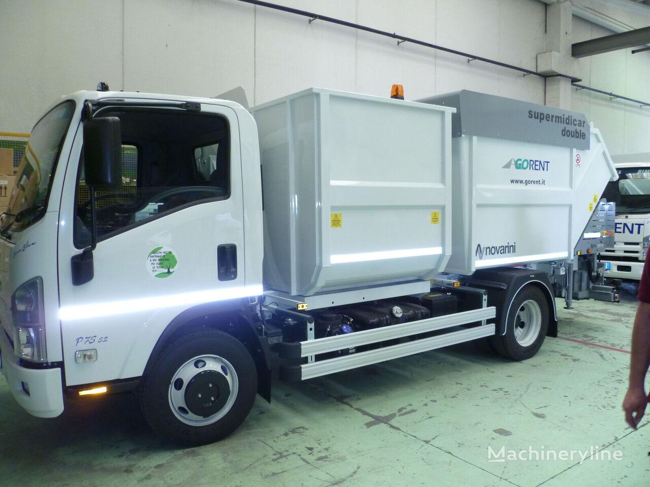 ISUZU P75 5200 cc P. 3365 E6 garbage truck