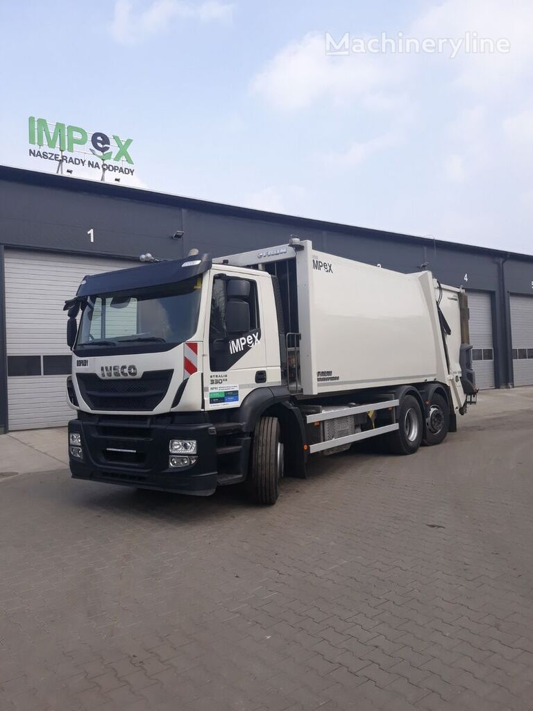 IVECO AS260SY garbage truck