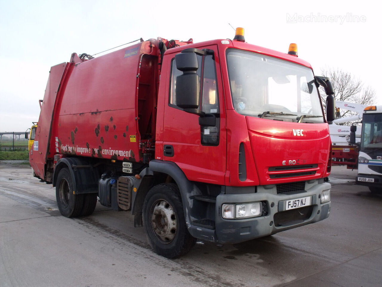 IVECO Eurocargo 1421 garbage truck