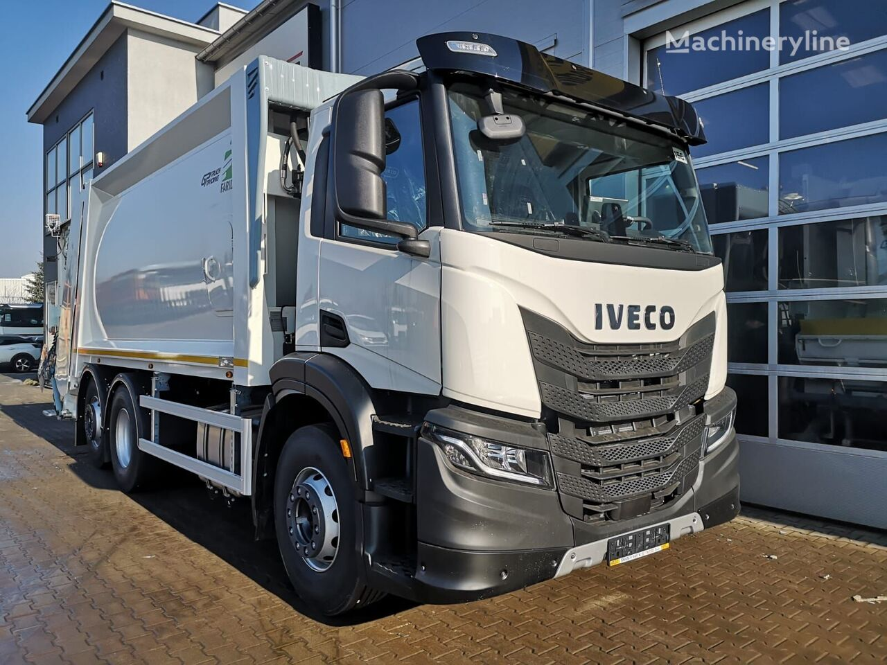 new IVECO S Way garbage truck