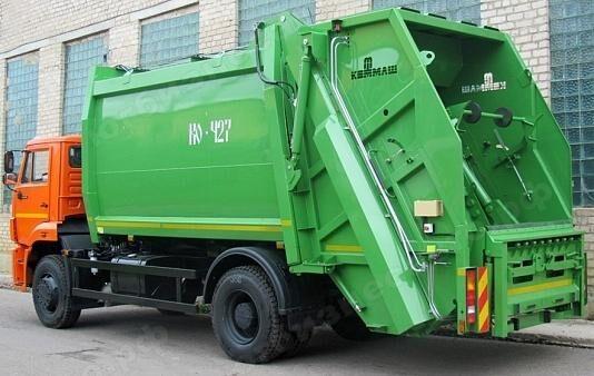 new KAMAZ 53605 garbage truck