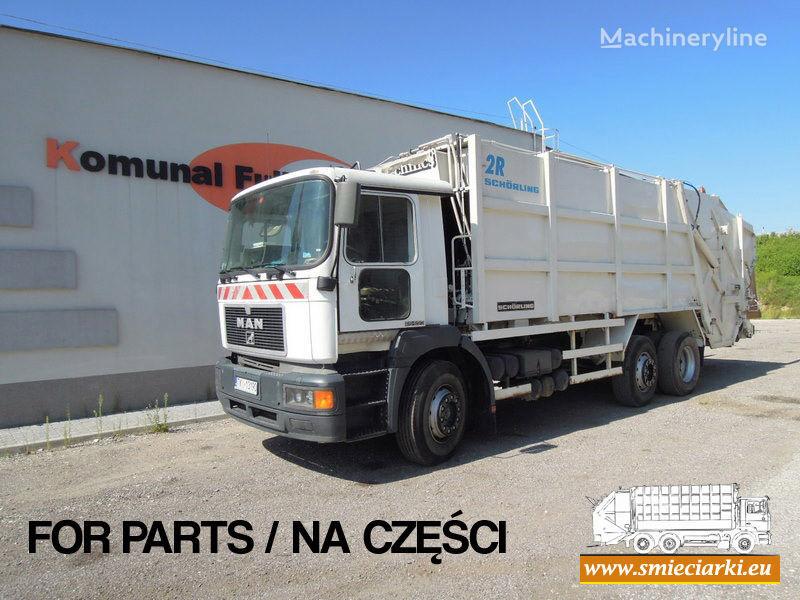 MAN 26-293 garbage truck