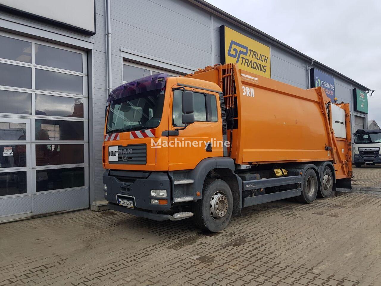 MAN TGA 26.320 garbage truck