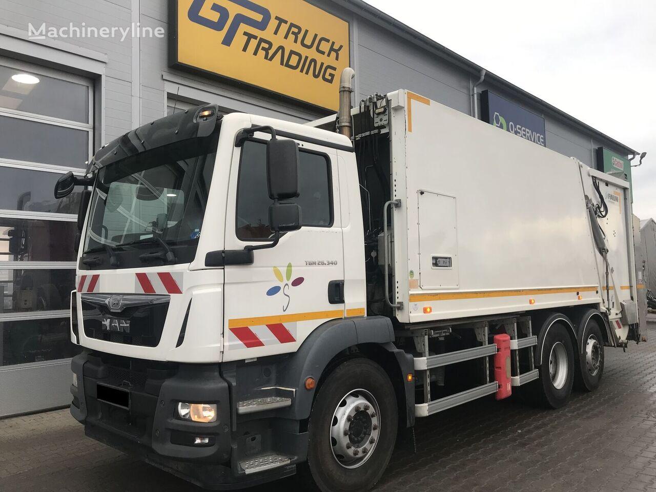 MAN TGM 26.340  garbage truck