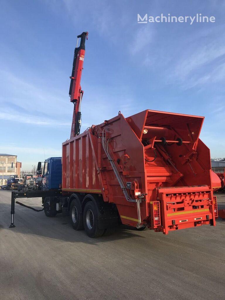 MAZ 5340C2 s zadney zagruzkoy SBM  garbage truck