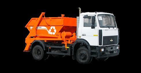 MAZ KO-440AM garbage truck