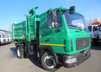 MAZ SBM-301 garbage truck