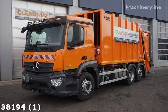 MERCEDES-BENZ Antos 2533 Euro 6 garbage trucks for sale, trash truck