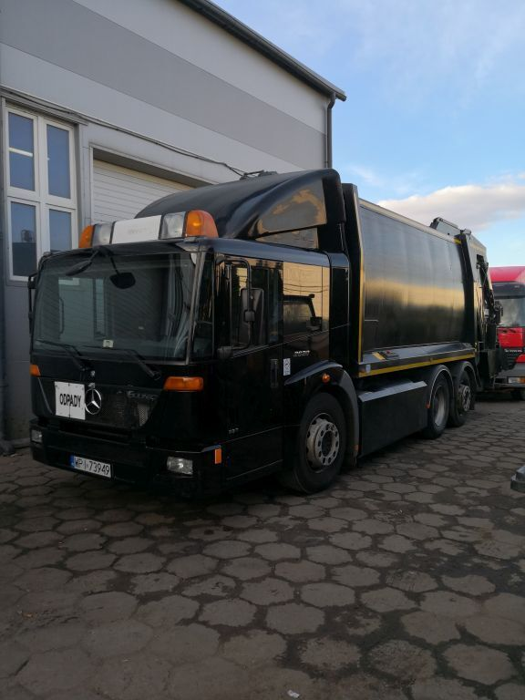 MERCEDES-BENZ Econic 2629  6X2 CNG garbage truck