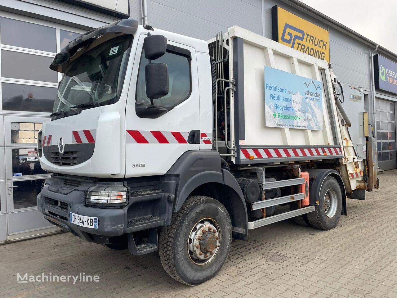 RENAULT Kerax 380  garbage truck