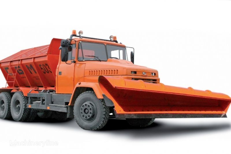 KRAZ 65055 MDKZ-30 gritter