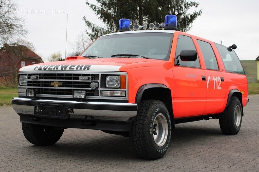 CHEVROLET Suburban K 1500 mobile sommand vehicle