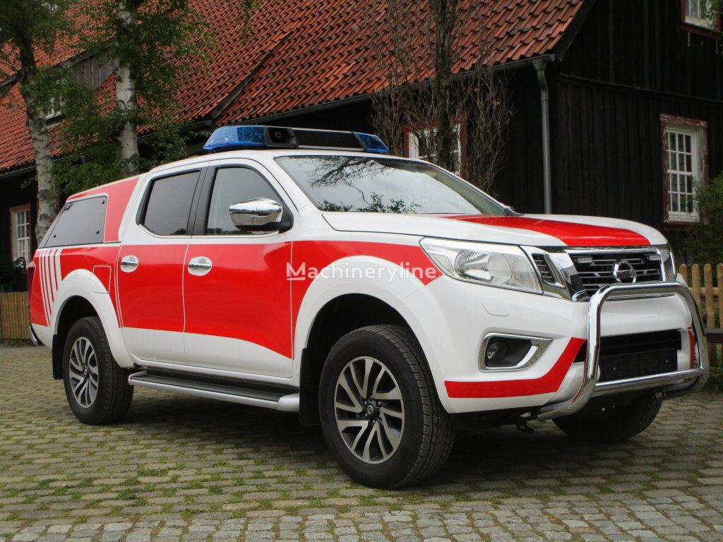 Nissan Navara N-Connecta mobile sommand vehicle